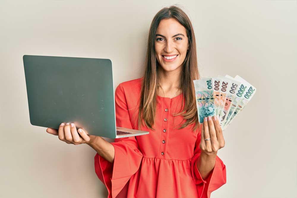 Peníze Si Vyřídíte Jednoduše Přes Internet